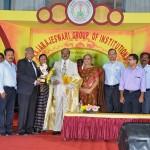 07. Felicitation by RajaRajeswari Dental College & Hospital