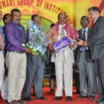 08. Felicitation by RajaRajeswari College of Engineering