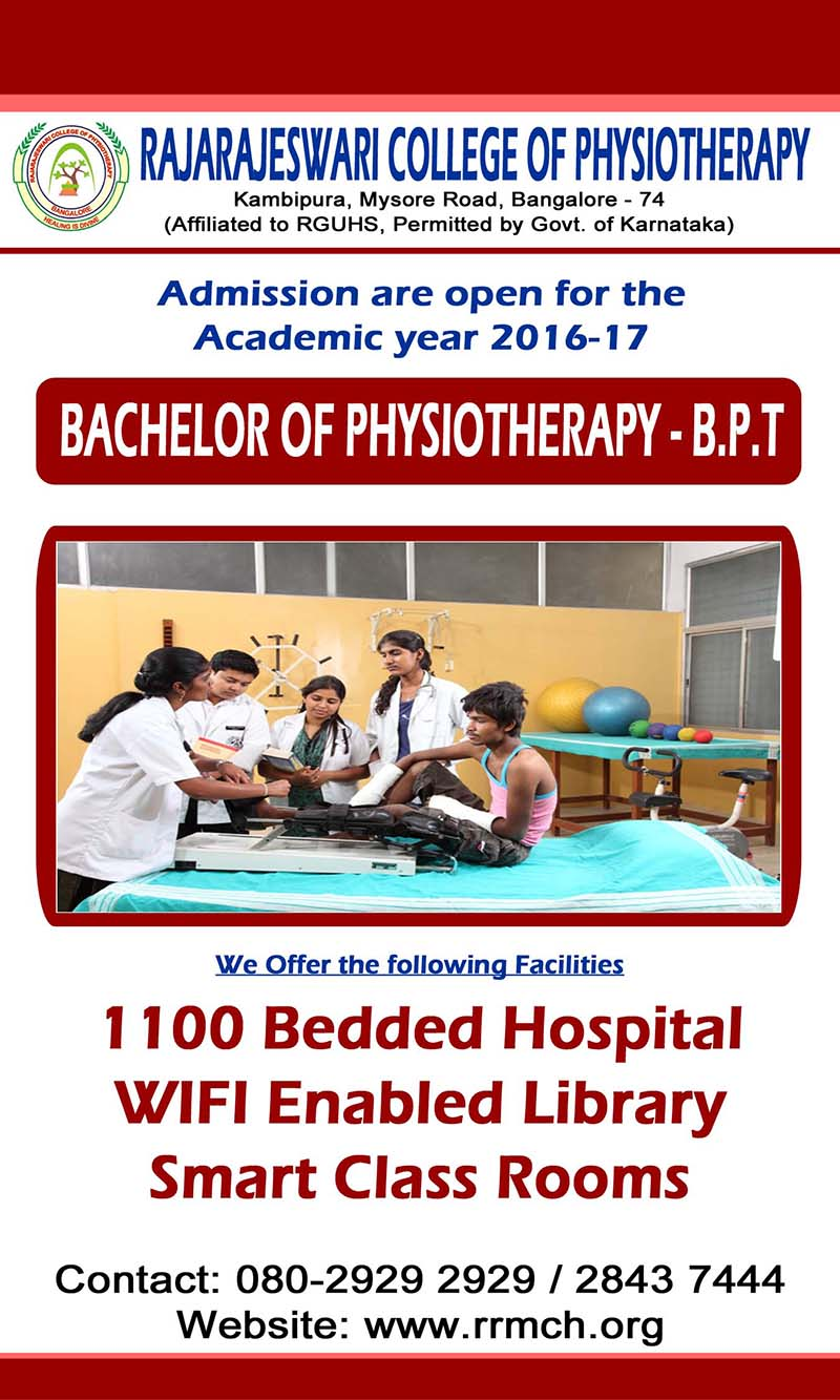 Physitherapy Admission