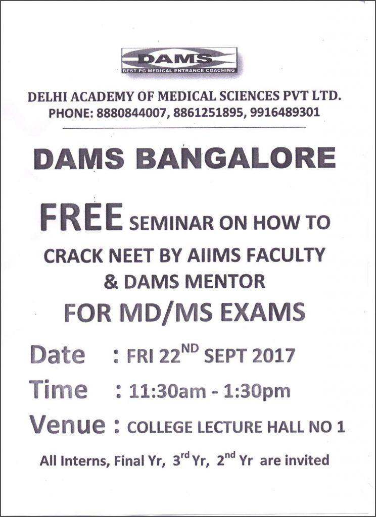 DAMS-Bangalore