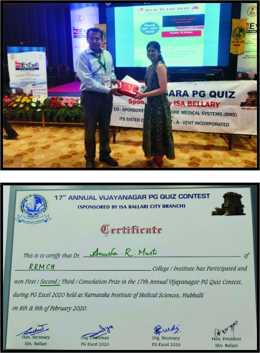 Dr. Anusha R Musti