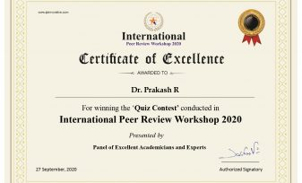 Innovative publication Quiz International Peer Review 2020