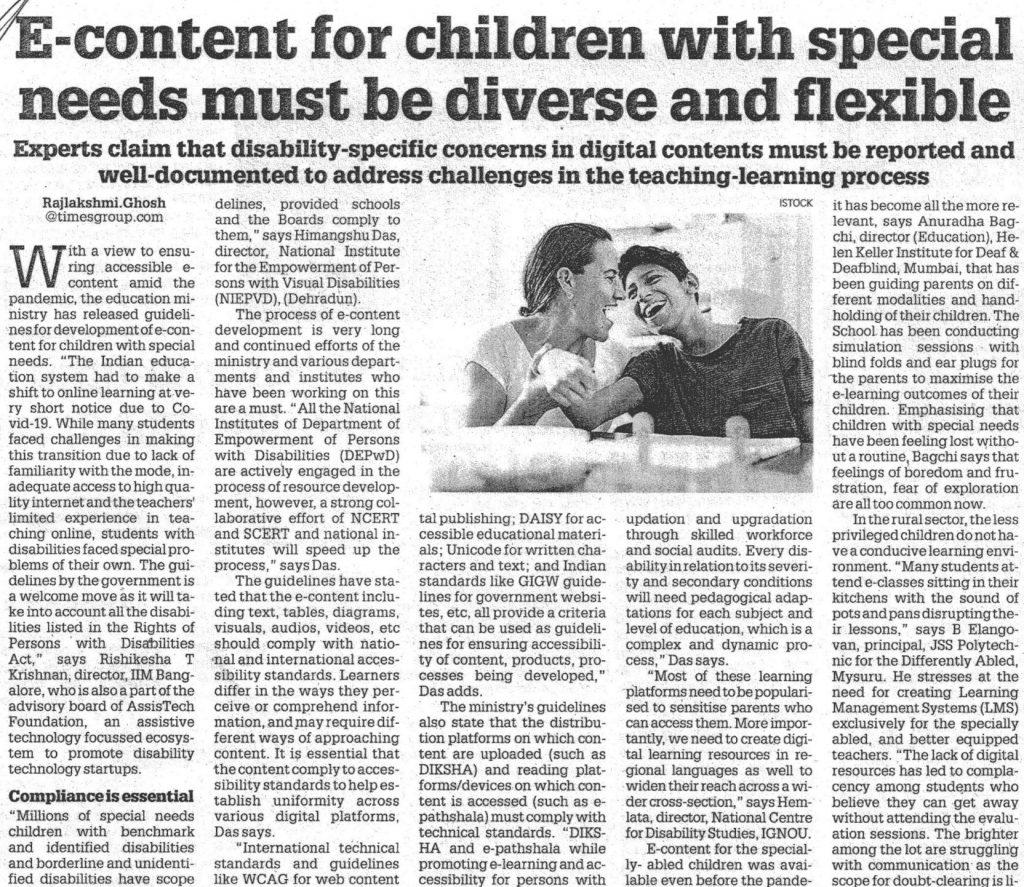 E-content fo children