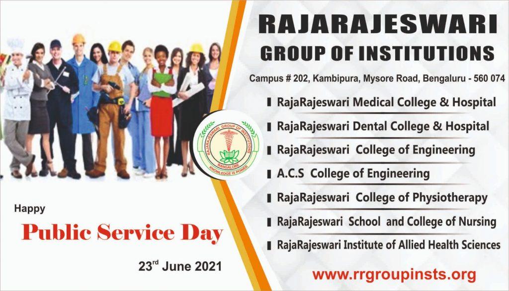 Public Service 23 June RRGI