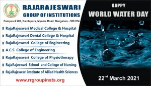22nd march World Water Day